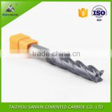 Good quality wholesale 4 flutes, HRC 50, 60 tungsten carbide milling cutter for cutting tools