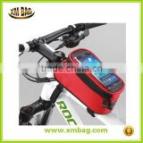 China OEM Travel Phone Bag Cycling Bike Bicycle Frame Pannier Front Tube Pouch Bag                                                                         Quality Choice