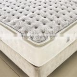 Roll Packing Bamboo Charcoal Memory Foam Mattress Topper MD048