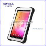 10inch IPS 3G rugged tablet NFC/Fingerprint/Docking/Scanner winds Android two OS tablet pc