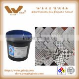 High resolution photo resist ink anti etching ink for metal, watch, label, hardware