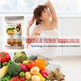 High quality vegetable extract supplement for natural beauty products/japanese slimming capsule