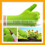 Eco-Friendly Bamboo Garden Glove Great Grip Foam Latex Coating Gloves
