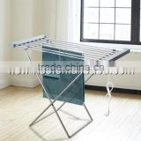 Electric Heated Folding Clothes Towel Airer Dryer Warmer Rail