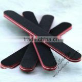 beauty various design black sandpaper nail file