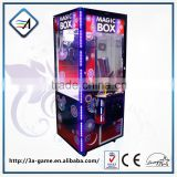 High Qaulity Plush Toy Coin Pusher Type Claw Crane Machine for Sale