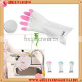 kitchen chemical Defense heat and water resistant PVC Gloves                                                                         Quality Choice