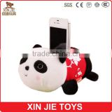 customize plush animal cell phone holder