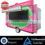 2015 HOT SALES BEST QUALITY chicken rotisserie food car lovarock grill food car gas griddle food car