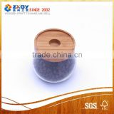DongGuan Wood Lid Glass Bottle