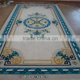 Fireproof woolen handmade carpet for hotel lobby and hall                                                                         Quality Choice