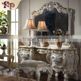 Antique classic furniture mirror-antique reproduction french furniture-Rubber wood mirror