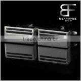 Square shape stainless steel cufflinks for men and boys Top quality wholesale