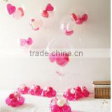 36'' 28g transparent oval latex balloon for party supplies