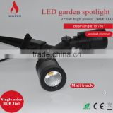 10w Good waterproof single color RGB RGB3in1 mini spike garden light small led spot light