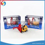 cute die cast model car Forklifts and cranes toy