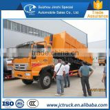 practical Waste compression station china howo 4x2 even joint dump garbage truck Promotion price