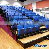 Selent telescopic seating tribune telescopic chair grandstand retractable seating grandstand