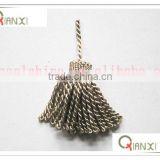 Polyester tassel for polyester tassel for cellphone, key, bottle, cap, jewelry, curtain, garment