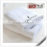 Egyptian Cotton Customized Embroidery Logo White Luxury Hotel Bath Towels                                                                         Quality Choice