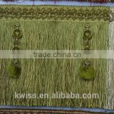 mix color tassel trimmings fringe curtain decorative brush tassel