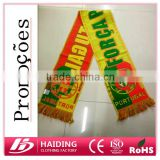 $0.8 Portugal Acrylic football fans scarf for 2016 European Cup