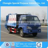Foton 8 cubic meter garbage compactor truck dimension,China Foton Sinotruck howo garbage truck for sale