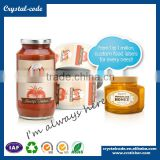 Labels for food containers banana stickers honey bottle labels custom eggshell stickers chocolate sticker