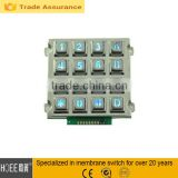 INQUIRY about Home Appliance 4x4 Press numeric tactile Metal Keypad with backlit