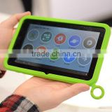 With Handle Ring, Cute Silicone Tablet Bumper Ring Case Back Cover For Samsung Galaxy Tab3 8 inch tablet