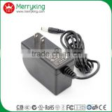 100-240v 50-60hz ac adapter 24volt 1amp US plug power wall adapter for router with UL/cUL/FCC