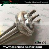 U shape best selling stainless Flange Electric Tubular Heating Element 5KW For Water Heater Parts