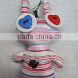fashion button doll keychain mobile cell strap
