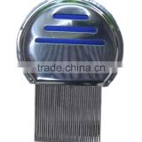 factory stainless steel Handle Material and Home Use nit lice comb