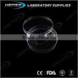 Sterile plastic Petri Dishes 90x15mm in high gram weight