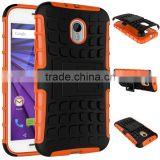 Low price china mobile phone Heavy Duty Shockproof PC+TPU Cover Shockproof Case for Motorola Moto G3 alibaba china