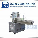 Small cardboard box packing facial tissue machine