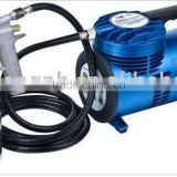 Portable mini air compressor kit with low pressure spray gun NV-6009