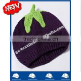 IN STOCK new product china manufacturer OEM CUSTOM LOGO winter cotton baby warm apple beanie hat and cap