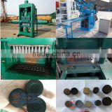 Energy saving and top-class quality shisha charcoal briquette press machine