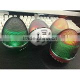 wholesale hot sell egg shape flashligt rechargeable bluetooth speaker bluetooth wireless bluetooth audio