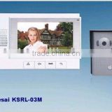 "Color Video Door phone, Ultra-slim 7"" color video doorphone ,video door bell"
