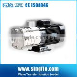 Singflo 10 bar high pressure stainless steel centrifugal pump performance curve/pump centrifugal