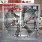 Automatic shutter wall mounted industrial electric exhaust fan