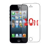 10X Clear LCD Screen Protector Cover for Apple iPhone 5