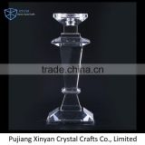 Wholesale prices superior quality tall pillar acrylic crystal candle holder manufacturer sale