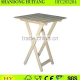 FSC folding wooden stool wholesale