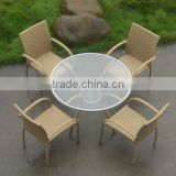 T042 wicker coffee furniture