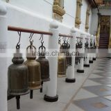 high quality metal craft bronze thai temple bell for sale