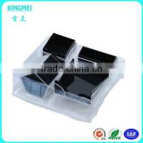2014 New product acrylic office supplies stationery storage box with card and pen holder